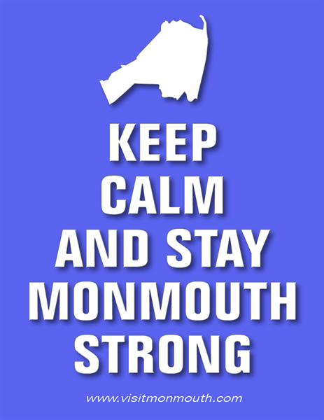 Keep Calm and Stay Monmouth Strong