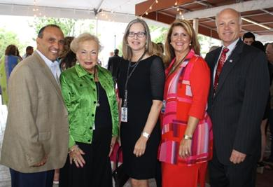 Board of Chosen Freeholders with Monmouth County Arts Council executive director Mary Eileen Fouratt